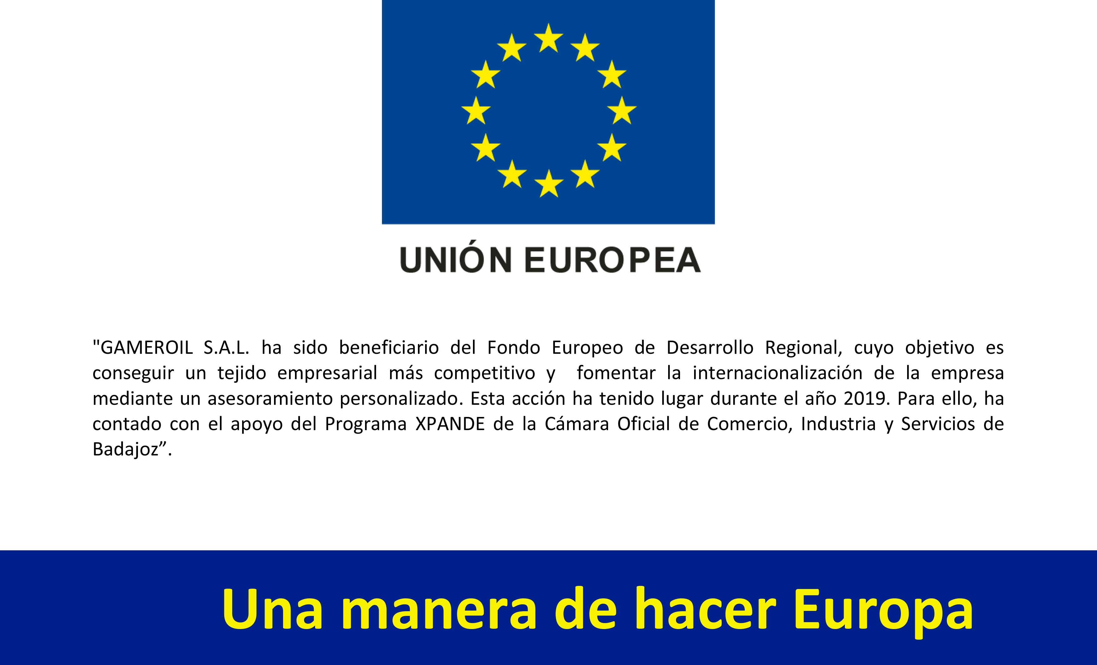 Financiación UE